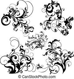 blom grundämnen, design