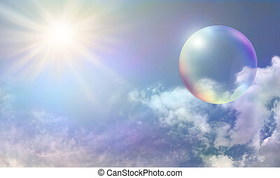 bubbla, sol energi