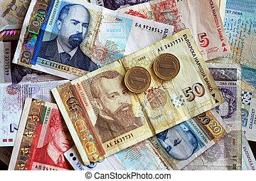 bulgarisk, pengar