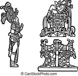 c, mayan, grupp