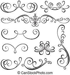 calligraphic, elementara