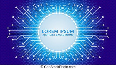 cyberpunk, färg, lutning, blå, geometrisk, vektor, template., theme., elektronisk, bakgrund, pattern., illustration., lyse, vit, form, rundat, strömkrets, design, träd, dystopian, abstrakt, hexagonal