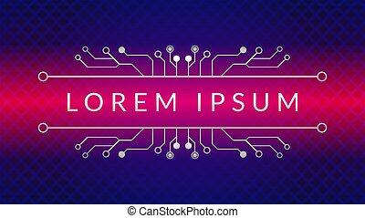 cyberpunk, färg, lutning, blå, metallisk, geometrisk, vektor, template., theme., elektronisk, bakgrund, pattern., illustration., magenta, form, diamant, rosa, strömkrets, design, träd, dystopian, abstrakt, mörk