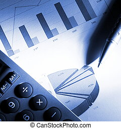data, finansiell, analysera