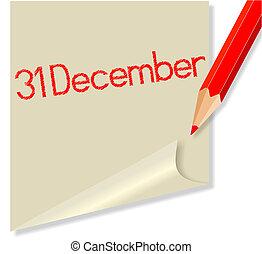 december 31