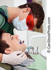 dental, inspektion