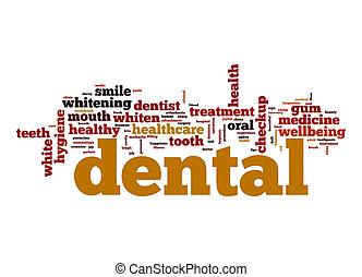 dental, ord, moln