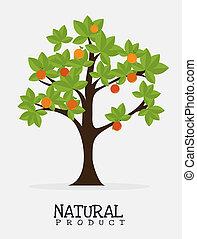 design, produkt, naturlig