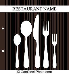 design, retro, restaurang