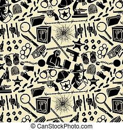 detektiv, holmes, boja, glas, kedja, ikonen, mönster, revolver, (sherlock, kula, mikroskop, förstoringsapparat, hatt, bakgrund, räcker, hacker, handklovar, kniv, hål, blood)