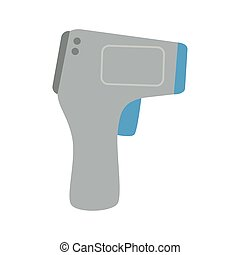 digital, mätning, termometer, kropp, 2019, infraröd, termometer, non, medicinsk, coronavirus, ncov, sjukdom, kontakta, förhindrande, temperatur