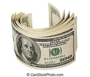 dollars, hög