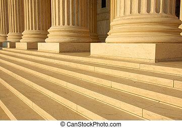 domstol, högst, steg