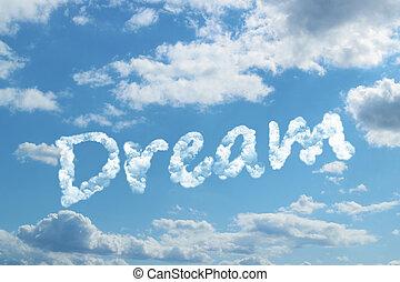 dröm, ord, moln
