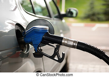 drivmedel, bensinstation, gas
