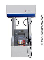 drivmedel pumpa, station