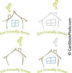eco, hus, vänskapsmatch