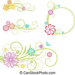 elements., blom formgivning