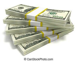 ena hundra dollar, buntar, lagförslaget