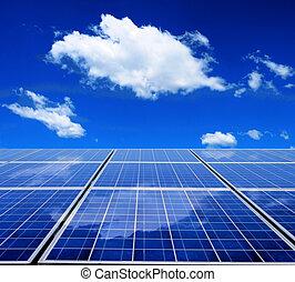 energi, solar panel