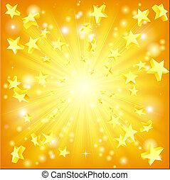 exploderande, stjärnor, bakgrund