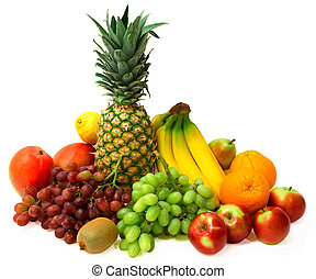 färgrik, frukter