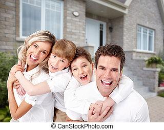 färsk, house., familj