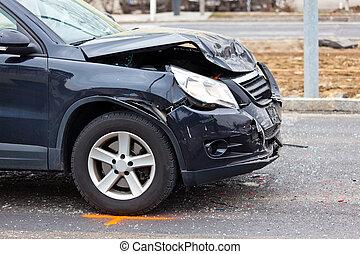fender-bender, bilkrasch