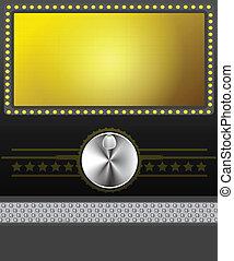 film skärma, baner, eller