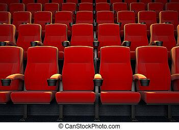 film teater, tom