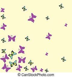 fjäril, bakgrund