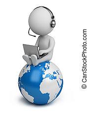 folk, global, -, chef, liten, 3