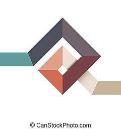 form, design, abstrakt, geometrisk