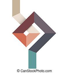 form, design, geometrisk, abstrakt