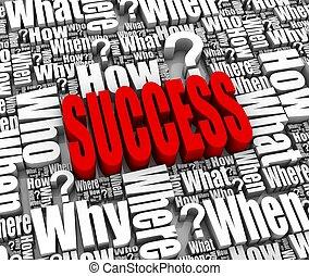framgång, strategi