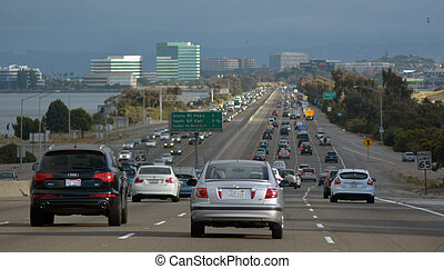 francisco, kalifornien, san, trafik