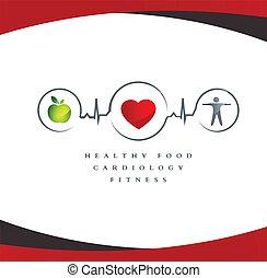 friskt hjärta, symbol