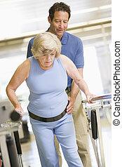 fysioterapeut, tålmodig, rehabilitering
