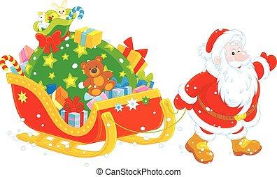 gåvor, jultomten