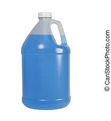 gallon, behållare, en