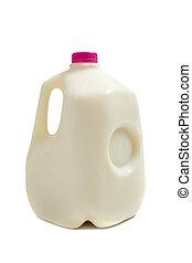 gallon, mjölk krus