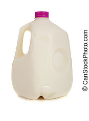 gallon, mjölk