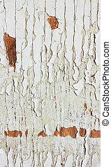 gammal, årgång, wood., måla, bar, struktur