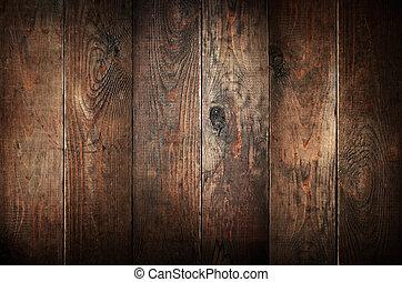 gammal, ridit ut, abstrakt, bakgrund., ved, planks.