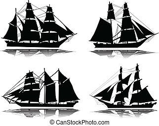 gammal, ship-vector