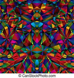geometrisk, pattern., seamless, yta