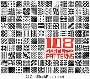 geometriskt mönster, sätta, seamless
