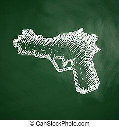 gevär, ikon
