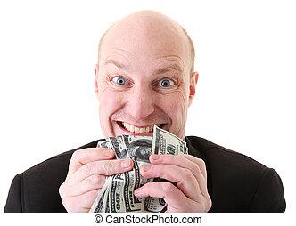 girighet, dollars, glupskhet