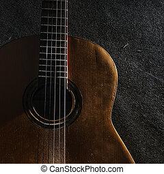 gitarr, liv, ännu